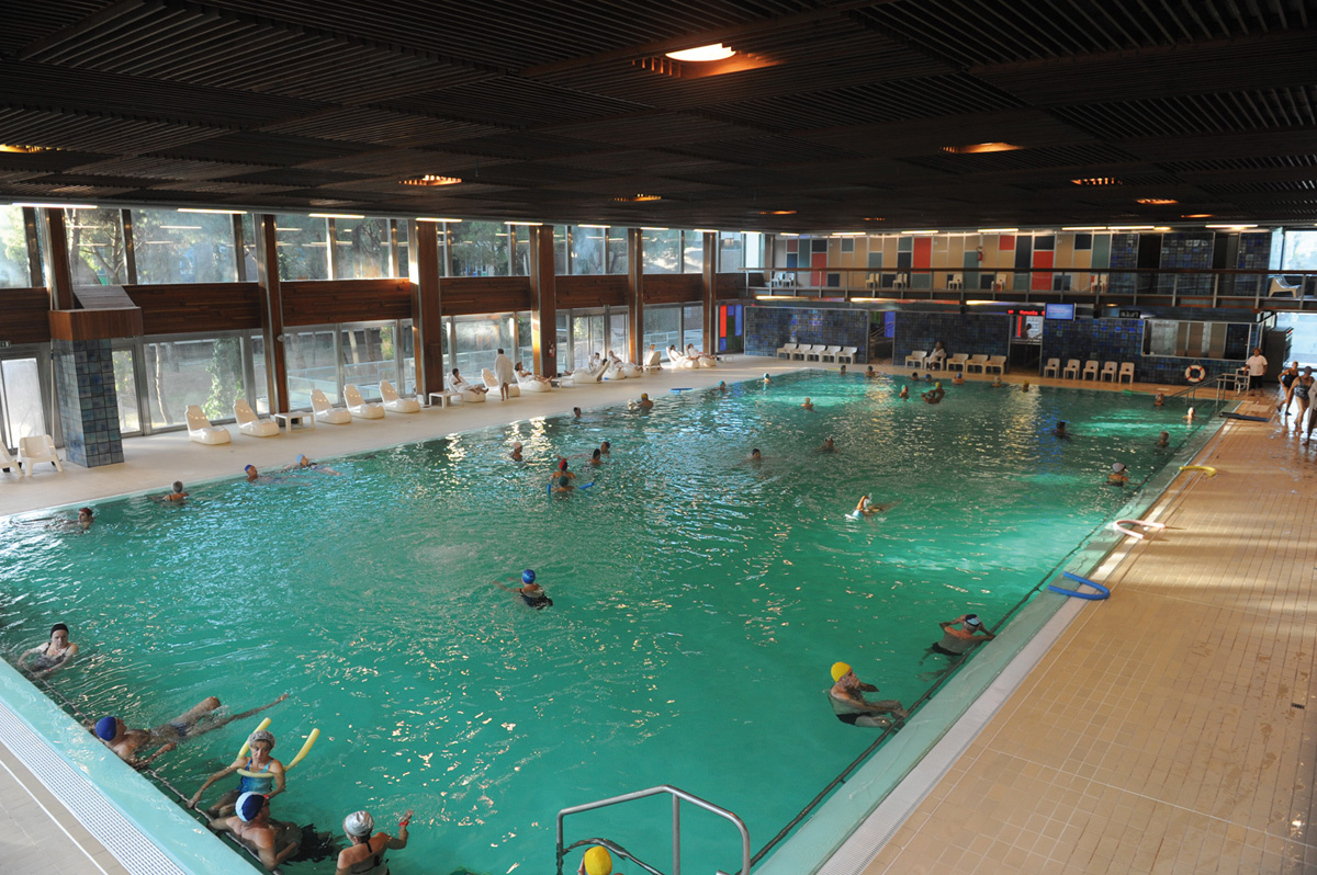 La piscina termale - Terme di Cervia