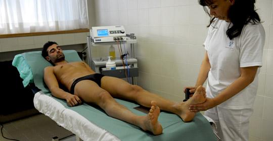 Fisioterapia alle Terme di Cervia