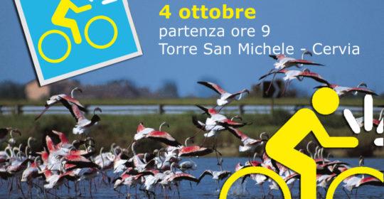 4 ottobre DigiBike Cervia Blu, tour cicloturistico guidato nella Salina