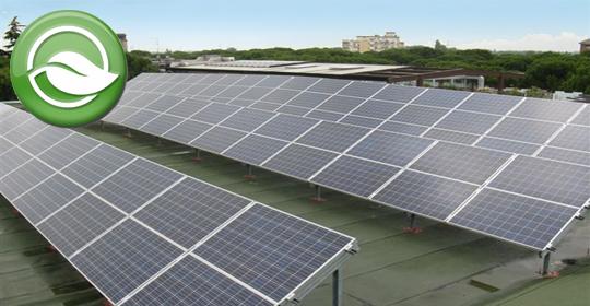 Grazie all'impianto fotovoltaico, risparmiamo alla nostra preziosa atmosfera 300 tonnellate di CO2