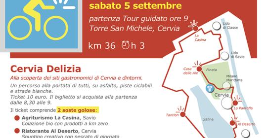 CERVIA DELIZIA: ITINERARIO DI GUSTO IN BICICLETTA